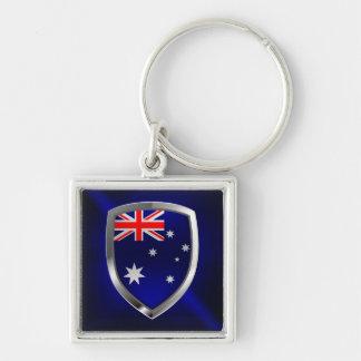 Llavero Emblema de Australia Mettalic