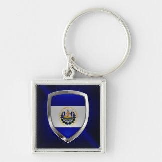 Llavero Emblema de El Salvador Mettalic