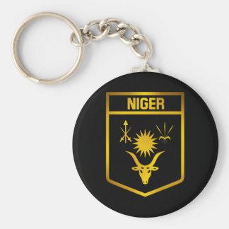 Llavero Emblema de Niger
