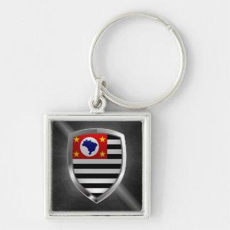Llavero Emblema de São Pablo Mettalic
