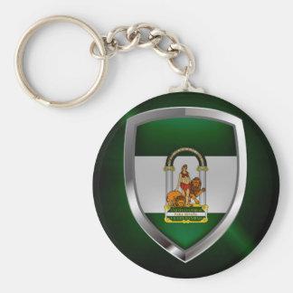 Llavero Emblema metálico de Andalucía