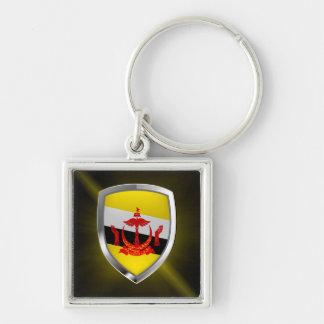 Llavero Emblema metálico de Brunei