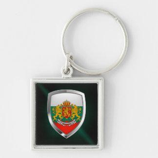 Llavero Emblema metálico de Bulgaria