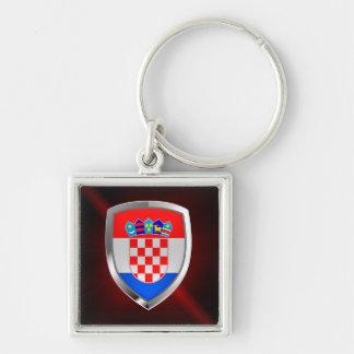 Llavero Emblema metálico de Croacia