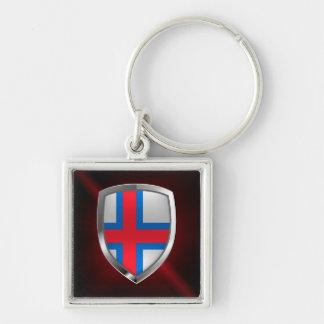 Llavero Emblema metálico de Faroe Island