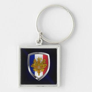 Llavero Emblema metálico de Francia