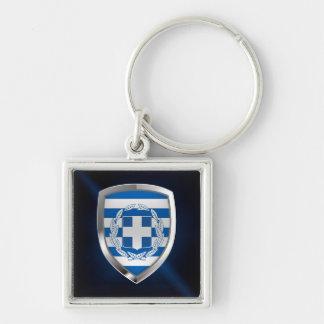 Llavero Emblema metálico de Grecia