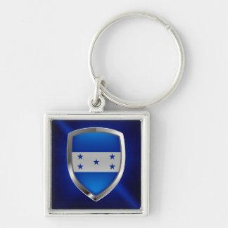 Llavero Emblema metálico de Honduras