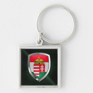 Llavero Emblema metálico de Hungría