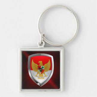 Llavero Emblema metálico de Indonesia