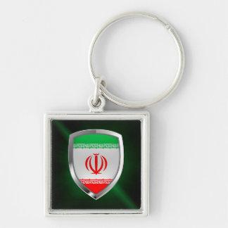 Llavero Emblema metálico de Irán