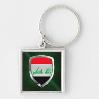Llavero Emblema metálico de Iraq