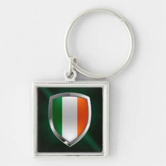 Llavero Emblema metálico de Irlanda