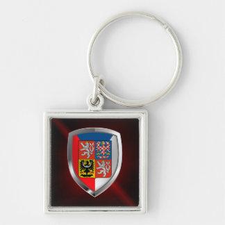 Llavero Emblema metálico de la República Checa