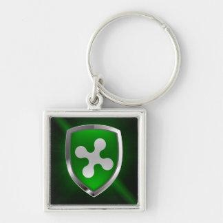 Llavero Emblema metálico de Lombardia