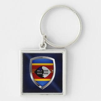 Llavero Emblema metálico de Swazilandia