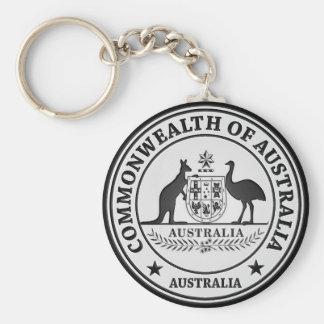 Llavero Emblema redondo de Australia