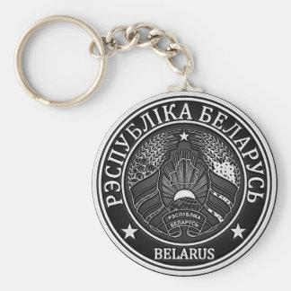 Llavero Emblema redondo de Bielorrusia