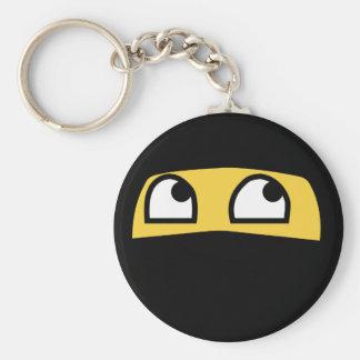 Llavero Emoji lindo del ninja del lil