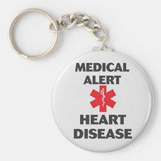Llavero Enfermedad cardíaca