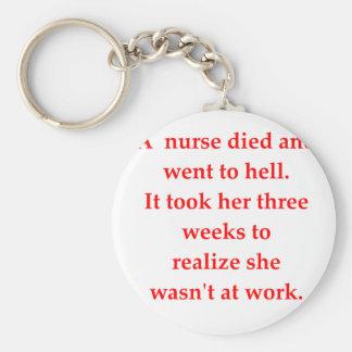 Llavero enfermera