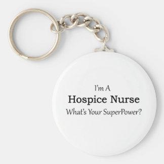 Llavero Enfermera del hospicio