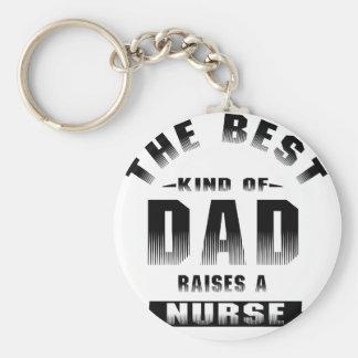 Llavero Enfermera, la mejor clase de papá