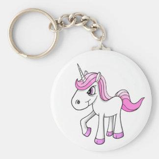 Llavero enojado del potro del unicornio del Meany