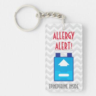 Llavero Epinefrina dentro de los niños de la alarma de la