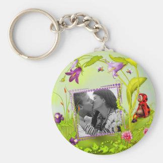 Llavero escaso de señora Bug Garden Photo Frame