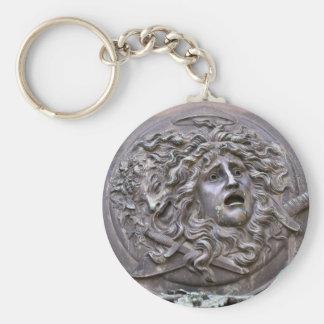 Llavero Escudo de la medusa de Athena