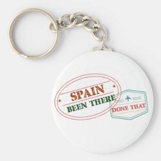 Llavero España allí hecho eso
