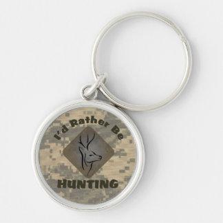 Llavero Estaría cazando bastante al cazador de los ciervos