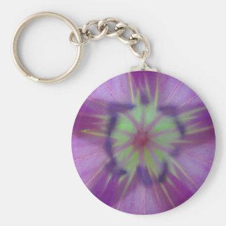 Llavero estrella violett-gelber amarillo violeta d
