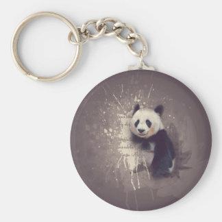 Llavero Extracto lindo de la panda
