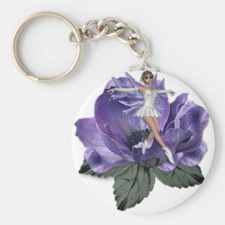 Llavero Faery 4 de la flor del KRW