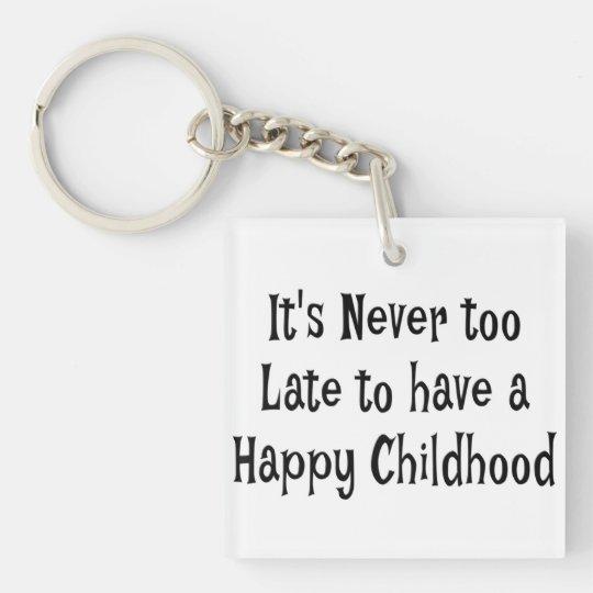 Llavero feliz de la niñez