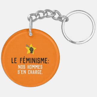 Llavero Feminismo Quebec radical humor sátira francés