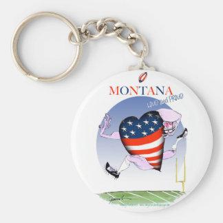 Llavero fernandes tony ruidosos y orgullosos de Montana,