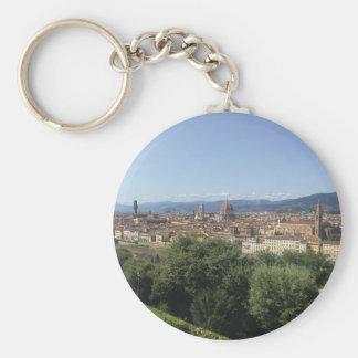 Llavero Florencia en panorámico