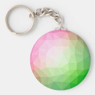 Llavero Fondo poligonal de los colores