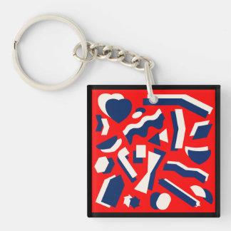 Llavero Formas abstractas