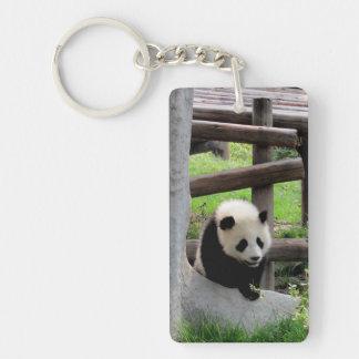 Llavero Fotografía de la panda