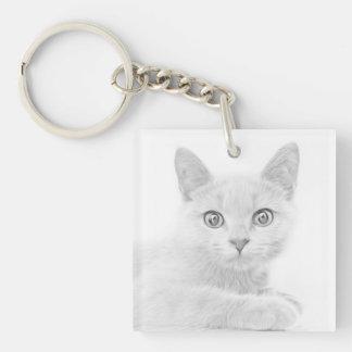 Llavero Fotografía LINDA ESTUPENDA del retrato del gatito