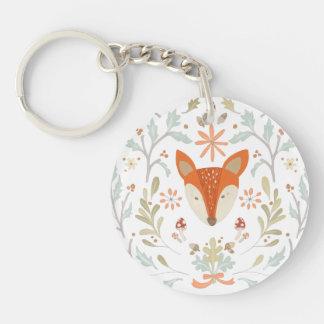 Llavero Fox caprichoso del arbolado
