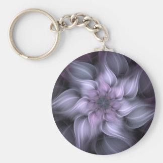 Llavero Fractal púrpura