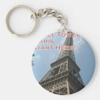 Llavero Francés del verano 2016 de París Francia de la