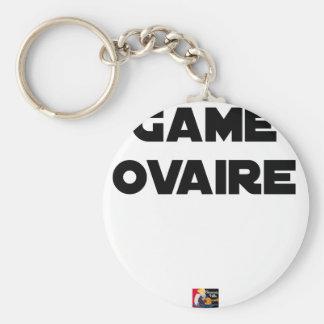 Llavero Gama Ovario - Juegos de palabras - Francois Ville