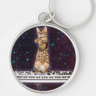 Llavero gato del teclado - gatos divertidos - amantes del