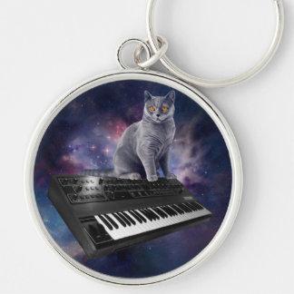 Llavero gato del teclado - música del gato - espacie el